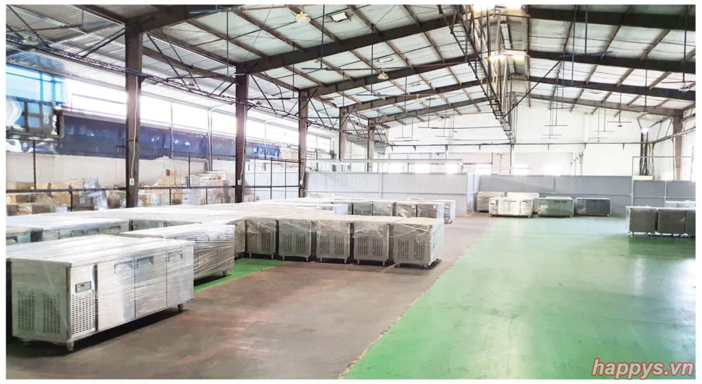 Nhà máy sản xuất thiết bị điện lạnh Happys