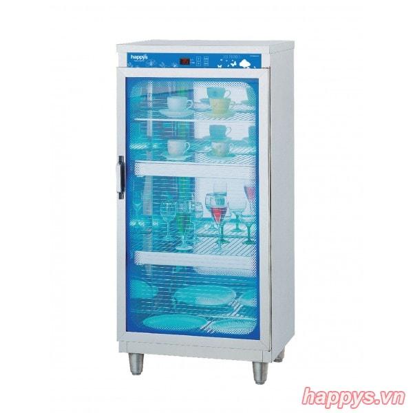 Tủ sấy diệt khuẩn bát đĩa cốc chén Happys HPS-102C (Sử dụng bảng điều khiển điện tử)