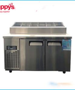 Tủ Bàn Mát Salad Toopping Happys HWA-1200TP dài 1200mm - Happys HWA-1200TP Toopping 샐러드 쿨러 캐비닛