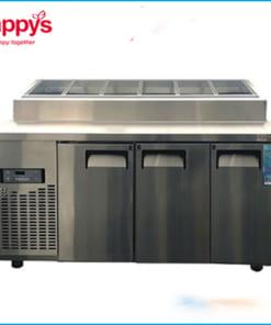 Tủ Bàn Mát Salad Topping Happys HWA-1800TP dài 1800mm