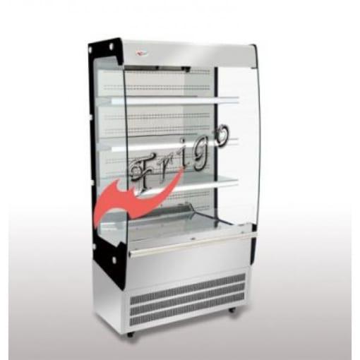 Showcase FGOR-900LC với thiết kế cửa trước đóng mở cùng với 3 kệ phù hợp để trưng bày các loại nước đóng chai, bia, rượu. - Showcase được trang bị một đèn LED chiếu sáng. - Máy nén thương hiệu DANFOSS xuất xứ châu Âu - Hệ thống rã đông bằng nước tự động - Tất cả mặt kính đều là kính cường lực chịu va đập