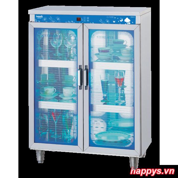 Tủ sấy diệt khuẩn bát đĩa cốc chén Happys HPS-104C
