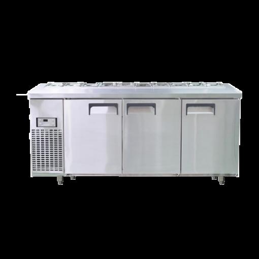 Bàn lạnh Salad Happys HWI-1800S có quạt gió