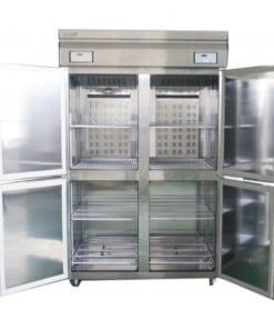 Tủ đông mát 4 cánh 2 ngăn
